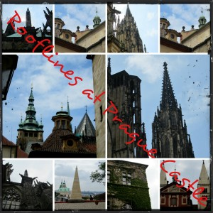 rooflines at Prague Castle