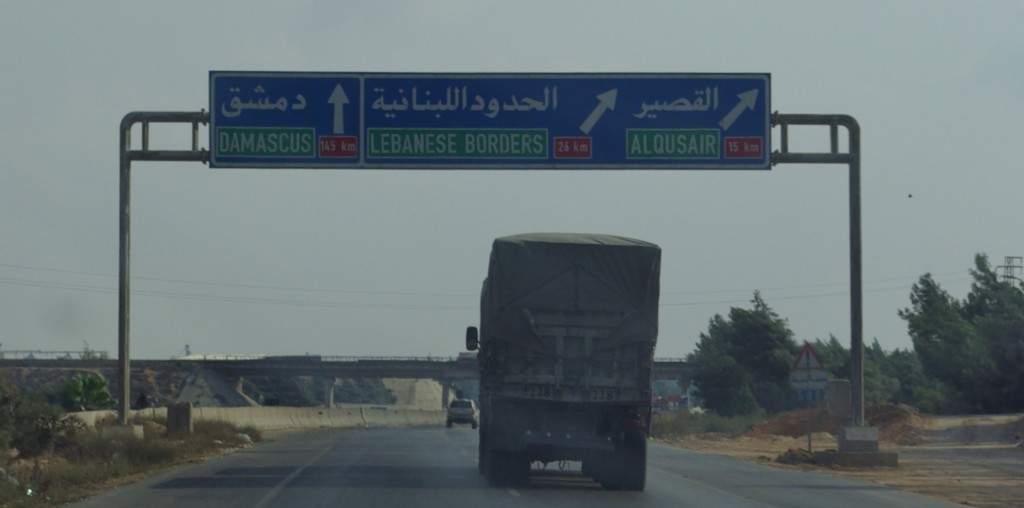 signpost syria