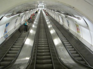 Nam Miru escalator