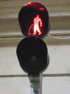 David Cerny traffic lights