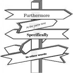 Signpost words