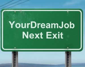 Dreamjob sign